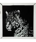 Cuadro Mirror Leopard