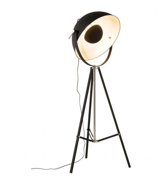 Lámpara de pie Bowl negro