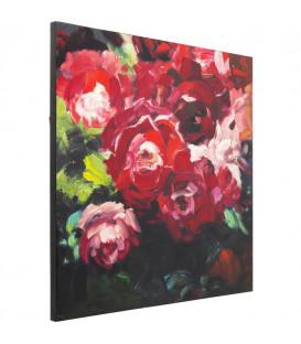 Cuadro Roses 100x100cm