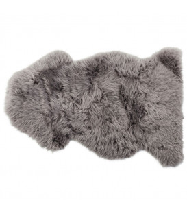 Piel cordero Zenzi 95 cm gris