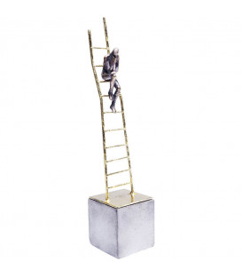 Objeto decorativo Climbing Man