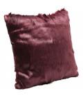 Cojín Ontario Fur Dark rojo 60x60