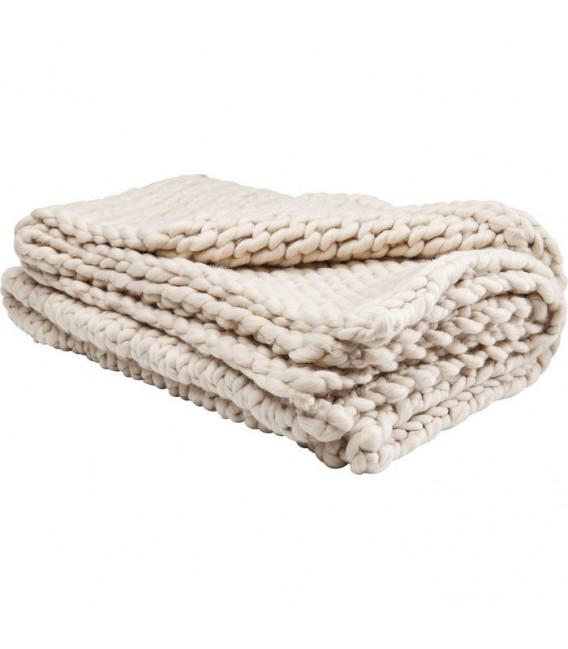 Cobertor Yarn beige 127x152cm