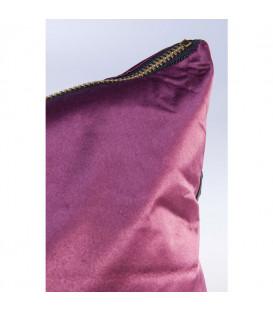 Cojín Zipper púrpura 45x45cm