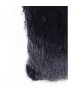 Cojines Ontario Fur Dark azul 60x60