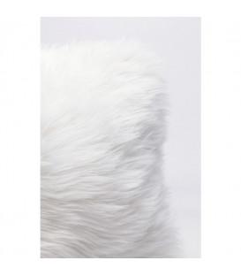 Cojín Fur White 40x40cm