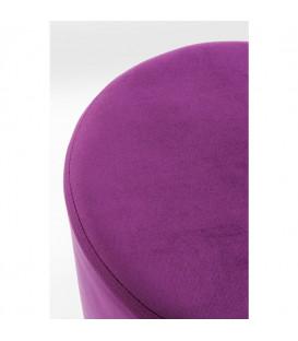 Taburete Cherry púrpura brass 35cm