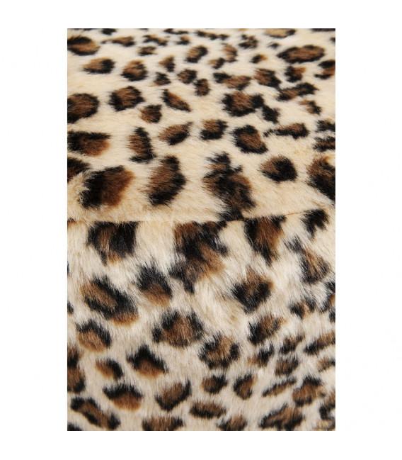 Taburete Cherry Leopardo cobre