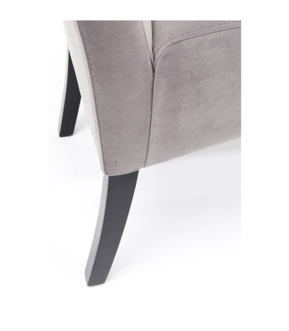 Banco  Motley Velvet gris plata