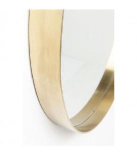 Espejo Curve Round Brass Ø60cm