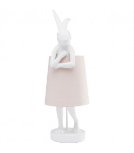 Lámpara de mesa Animal Rabbit blanco