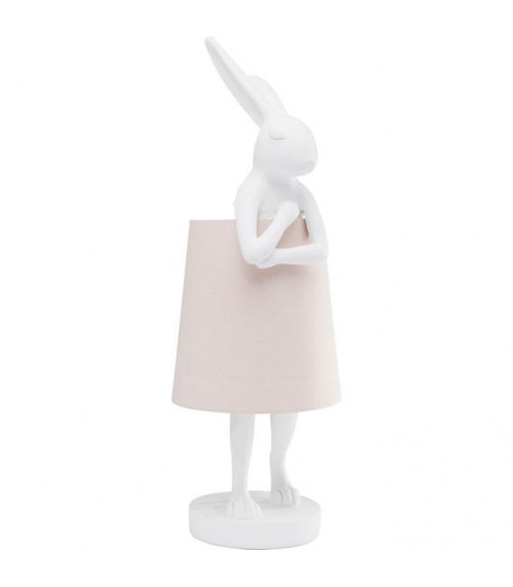 Lámpara de mesa Animal Rabbit blanco