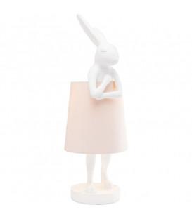 Lámpara mesa Animal Rabbit blanco