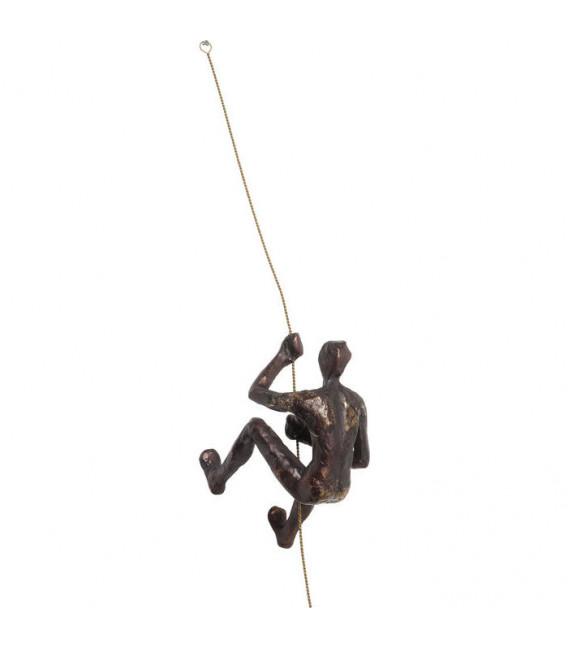Decoración de pared Climber Rope
