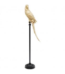Figura decorativa Parrot dorado