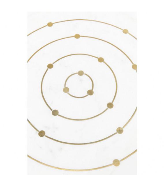 Mesa auxiliar Clack Circles Ø36cm