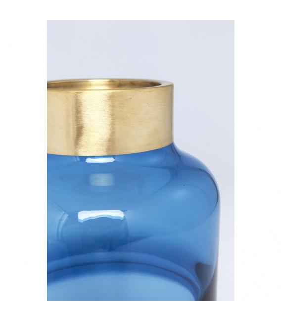Vasija Positano Belly azul 28cm