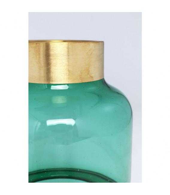 Vasija Positano Belly verde 28cm