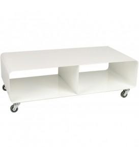 Mueble TV Movil blanco