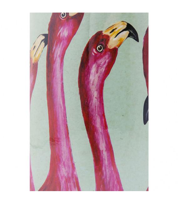 Vasija decorativa Flamingos 29cm