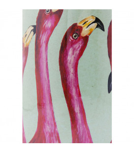 Vasija decorativa Flamingos 29cm