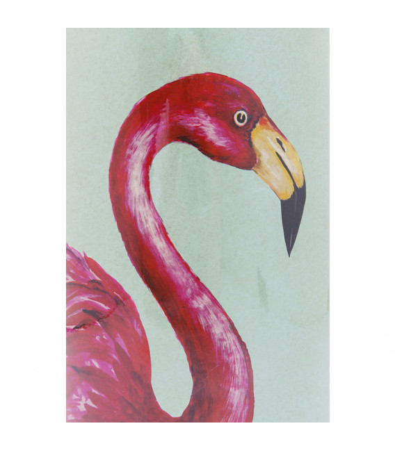 Vasija decorativa Flamingos 39cm