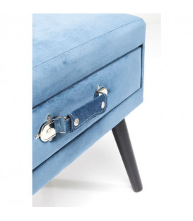 Taburete Drawer azul