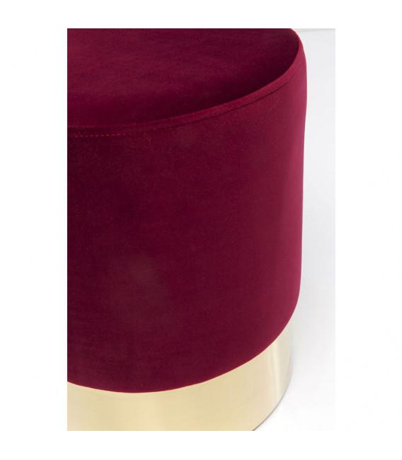 Taburete Cherry Burdeos Brass 35cm