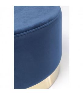 Taburete Cherry azul Brass 55cm