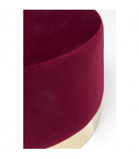 Taburete Cherry Bordeaux Brass Ã?55cm