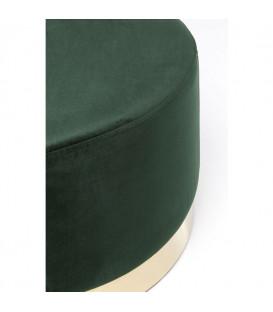 Taburete Cherry Verde oscuro Brass 55cm