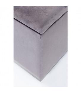 Banco Cherry Storage gris negro 80cm