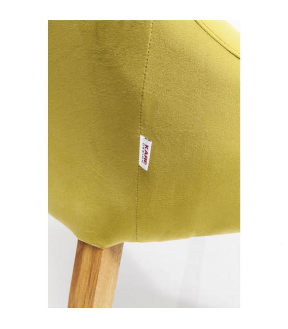 Silla Mode Velvet verde