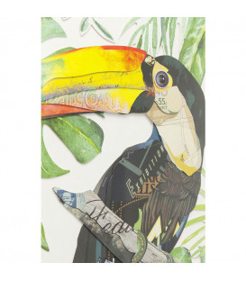 Cuadro Art Paradise Bird Single 70x50cm