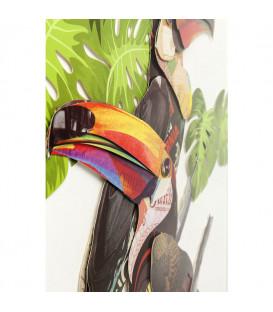 Cuadro Art Paradise Bird Couple 70x50cm