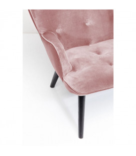 Sofá Vicky Velvet rosa