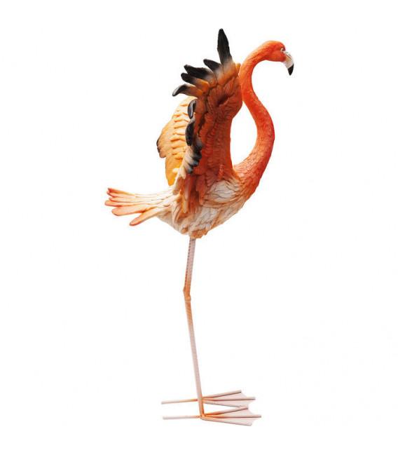 Objeto decorativo Flamenco Road Fly 66cm