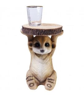 Mesa auxiliar Animal Mini mangosta