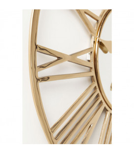 Reloj pared Giant Gold Ø80cm