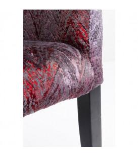 Silla reposabrazos Black Mode Fancy rojo