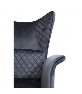 Butaca Tudor Velvet negro
