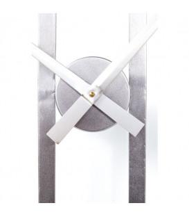 Reloj pared Clip Silver  Ø107cm