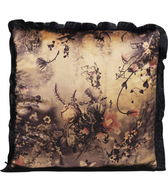 Cojín Romantic Garden Fringe 45x45cm