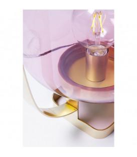 Lámpara mesa Jupiter Pink-Brass
