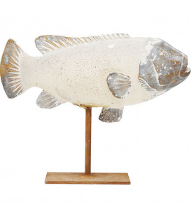 Objeto decorativo Pesce Natura 33cm
