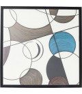Marco decorativo Wall Art Circles 90x90cm