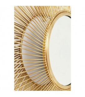 Espejo El Sol Gold Ø79cm