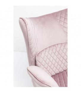 Butaca Tudor Velvet rosa