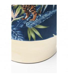 Taburete Cherry Jungle Tiger oro Ø35cm