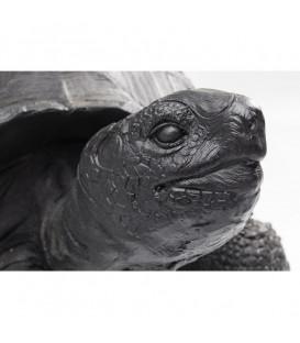 Figura decorativa Turtle negro mediano